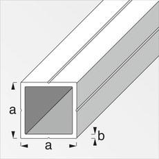 Quadratrohr 1.5 x 23.5 mm blank 1 m