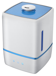 Humidificateur ultrasonique LATHI