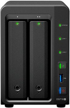 DiskStation  DS718+ logement vide
