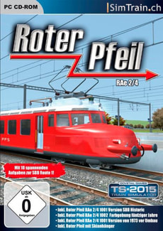 PC - Roter Pfeil RAe 2/4 (Add-On)