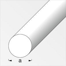 Rundstange 10 mm silberfarben 1 m