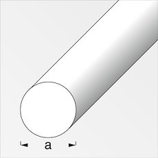 Rond plein 8 mm inox 1 m
