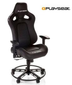Chaise de jeu L33T noir