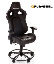 Gaming Stuhl L33T schwarz