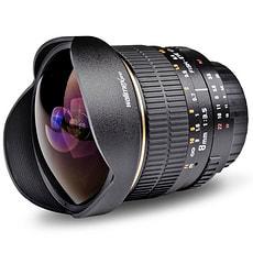 Walimex Pro - 8mm f/3,5 Fisheye AE Objektiv für Nikon