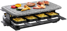 Raclette-Grill Hot Stone 8 Personen