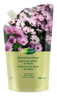 Engrais plantes de balcon sachet de recharge, 500 ml