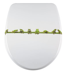 WC-Sitz Nice Frog Slow Motion