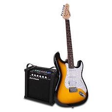 Elektrische Gitarre mit Verstärker