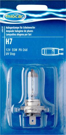 Ampoule halogène H7