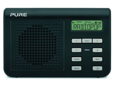 PURE One Mi II DAB+/UKW Digitalradio sch