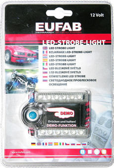 Led-Strobe-Light blau