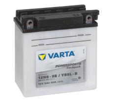 Batterie moto 12N5-3B / YB5L-B 12V 5Ah 30A