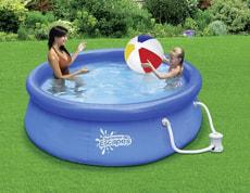 Fast Set Pool, 274 x 66 cm
