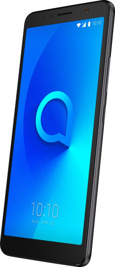 ALCATEL 3C Dual SIM 16GB Metallic Black