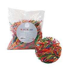 Bastelhölzer klein farbig 2000 Stk.