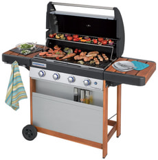 Grill gas Campingaz 4 Series Woody LX