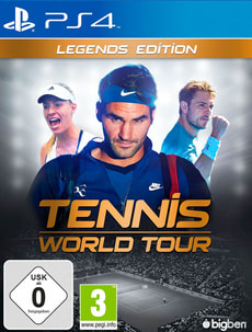 PS4 - Tennis World Tour - Legends Edition (D/F)