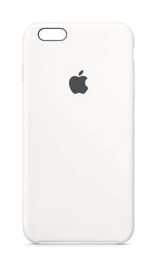 iPhone 6/6s Plus Silicone Case weiss