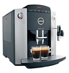 Impressa F50 Platin Black Kaffeevollautomat