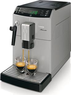 Minuto HD8761/11 Kaffeevollautomat Silber