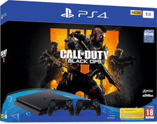 Playstation 4 1TB + Call of Duty: Black Ops 4