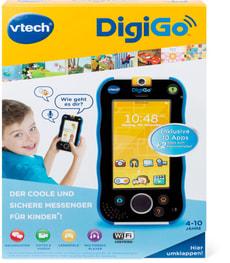 Messenger in stylischem Smartphone - Design (blau)