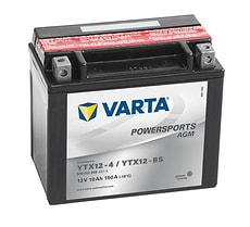 Motorradbatterie YTX12-BS 12V 10Ah 90A
