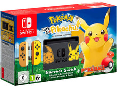 Switch Pokémon: Let's Go Pikachu!  inkl. Pokèball Plus