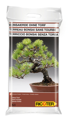 Terriccio bonsai, 5 l