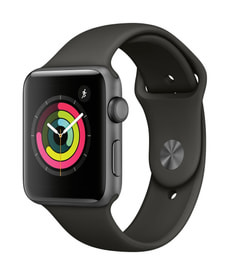 Watch Series 3 GPS 42mm spacegray/gray