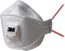 AuraTM Atemschutzmaske für Dämm- und Hartholzarbeiten, mit Ventil, 1 Stück