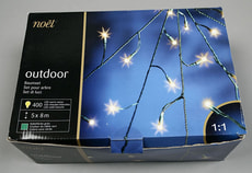 OUTDOOR BAUMSET, 5X80LED, INKL. RING