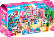 Playmobil City Life Galleria con 3 negozi 9078