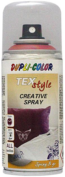 Spray per tessuti rosso