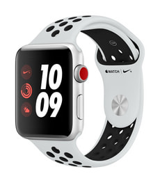 Watch Series 3 Nike+ GPS/LTE 42mm silver/platinum/black