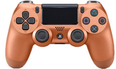 PS4 Wireless DualShock Controller Kupfer