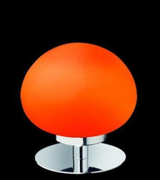 Lampe de table Mimas rouge