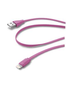 USB Flachkabel iPhone 5, pink