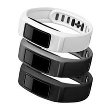 Vivofit 2 bracciale, Small, bianco/grigio/nero