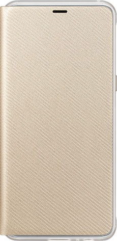Neon Flip Cover A8 2018 gold