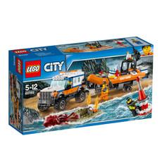 Lego City Geländewagen mit Rettungsboot 60165