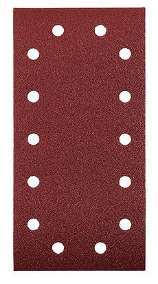 Patins abrasifs, corindon affiné, 115 x 230 mm, K80