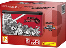 3DS XL Special Red inkl. Super Smash Bros.