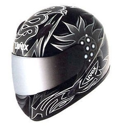 UVEX PS 400 S BLACK-SILVER-SHINY