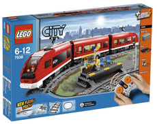 LEGO CITY TRENO PASSAGGERI 7938