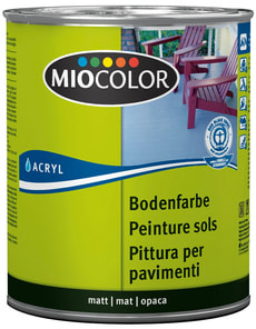 Acryl Bodenfarbe Kieselgrau 2.5 l