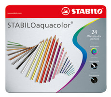 Crayon de couleur STABILO aquacolor®