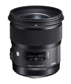 24mm F/1.4 DG HSM Art obiettivo per Nikon