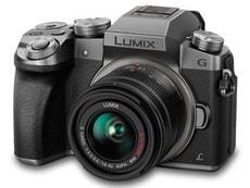 Panasonic Lumix G70 + 14-42mm silver Sys